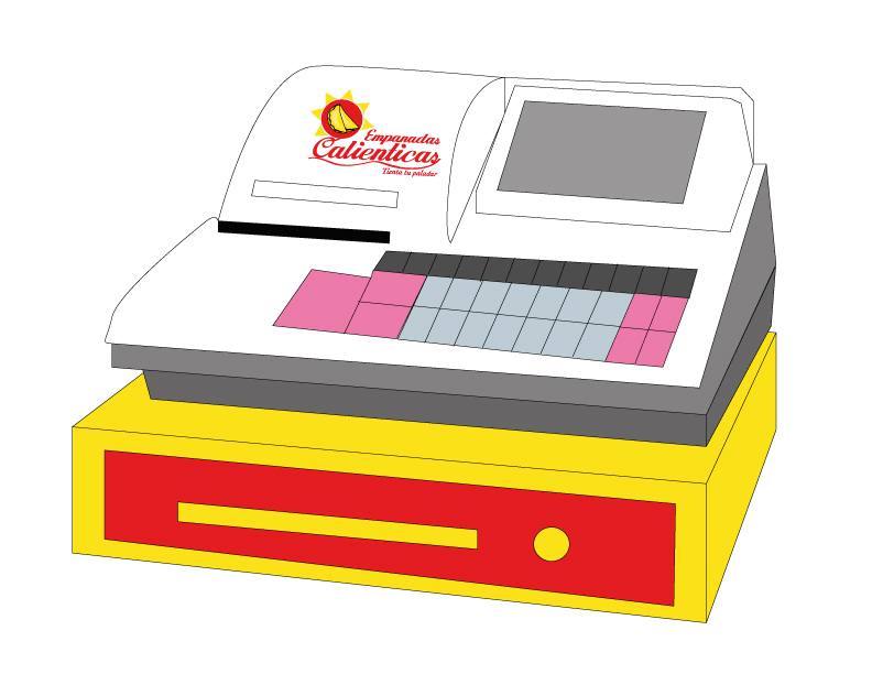 Caja-registradora