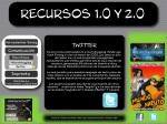 Comunicación menu - submenu sincronica - Microblogging - Twitter