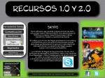 Comunicación menu - submenu sincronica - Videoconferencias - Skype