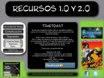 Imprenta menu -Lineas de tiempo - Timetoast